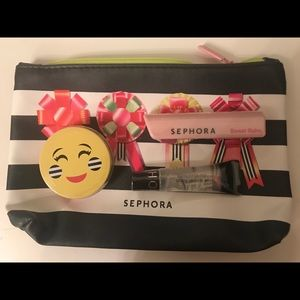 Sephora Lip Trio with Makeup Pouch